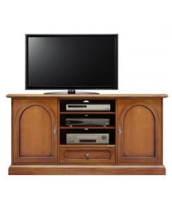 meuble tv, meuble tv en bois, meuble tv pour le salon, ameublement classique