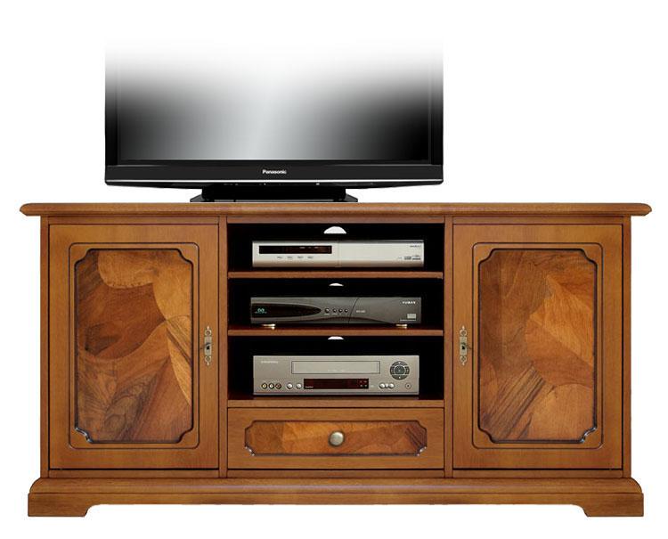 Meuble tv classique en ronce de noyer lamaisonplus - Meuble tv classique ...