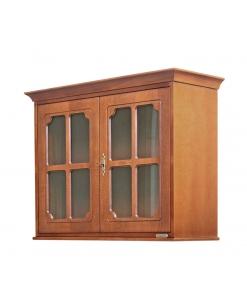 Vitrine murale portes vitrées, vitrine murale de rangement, vitrine murale 2 portes, vitrine suspendue, vitrine pour cuisine, vitrine petite taille