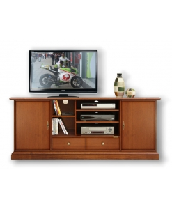 meuble tv simply largeur 200 cm lamaisonplus. Black Bedroom Furniture Sets. Home Design Ideas