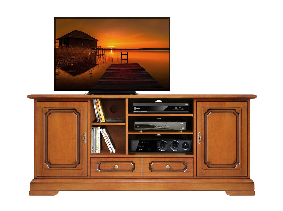 meuble tv home cin ma largeur 160 cm lamaisonplus. Black Bedroom Furniture Sets. Home Design Ideas
