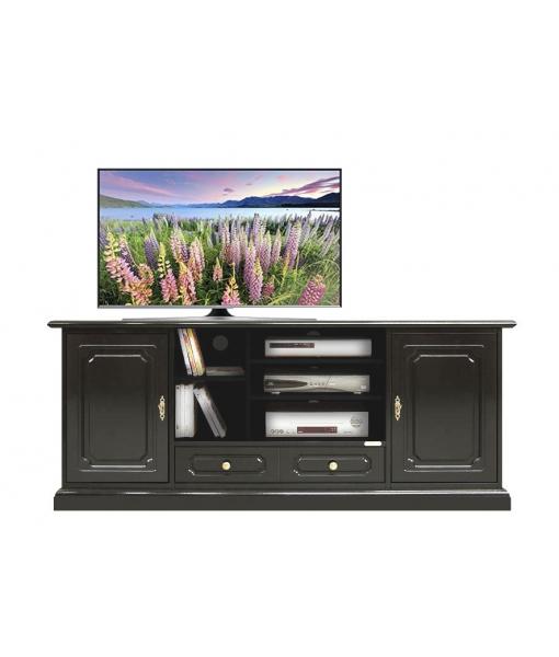 meuble tv hifi 2 portes 1 tiroir lamaisonplus. Black Bedroom Furniture Sets. Home Design Ideas