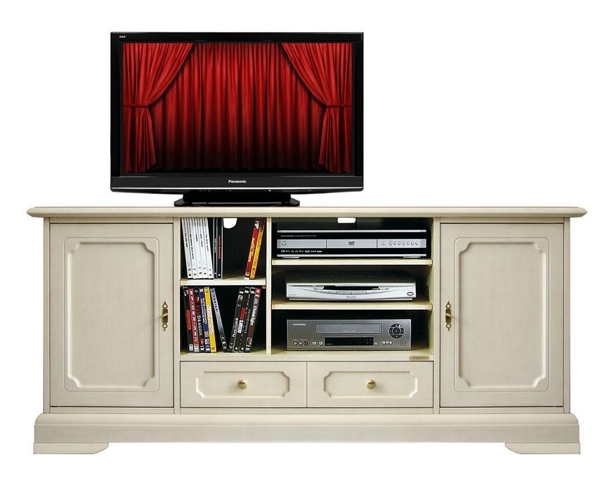 Meuble tv classique home cin ma lamaisonplus - Home cinema meuble tv ...