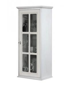 vitrine une porte laquée, vitrine de style