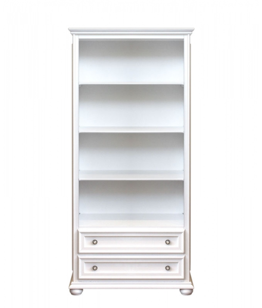 Meuble bibliothèque classique 2 tiroirs réf. 417-AV