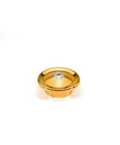 maniglia, maniglia Swarovski, maniglia in oro lucido