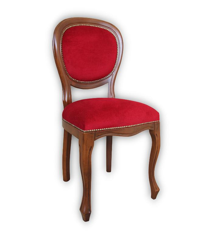 Chaise louis philippe dossier rembourr lamaisonplus for Chaise louis philippe