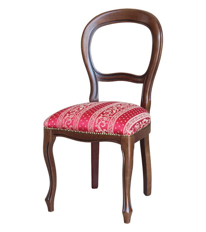chaise style louis philippe lamaisonplus. Black Bedroom Furniture Sets. Home Design Ideas