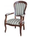 fauteuil Louis Philippe style, fauteuil de style, fauteuil classique, fauteuil pour le salon, ameublement de style classique, ameublement pour le salon