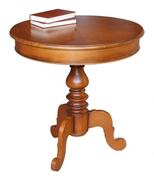 Table ronde marquetée - Guéridon, Réf. 450