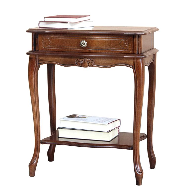 Table de chevet 1 tiroir lamaisonplus - Table de chevet merisier ...