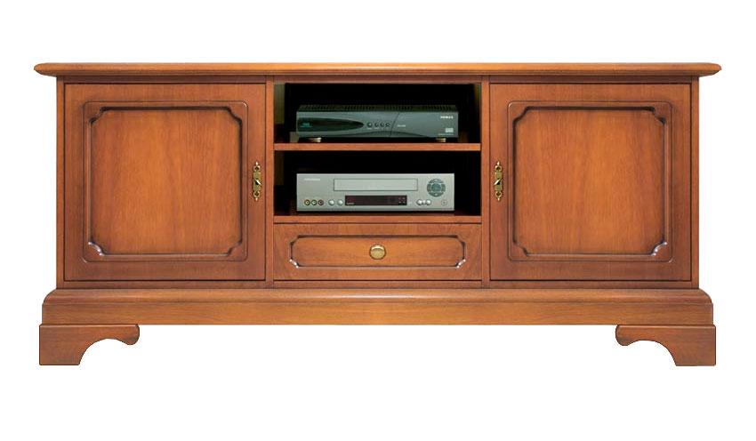 meuble tv style classique en bois meuble 2 portes meuble de salon meuble tv ebay. Black Bedroom Furniture Sets. Home Design Ideas