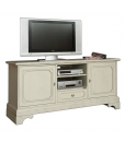 meuble tv style classique, meuble tv laqué, ameublement pour le salon
