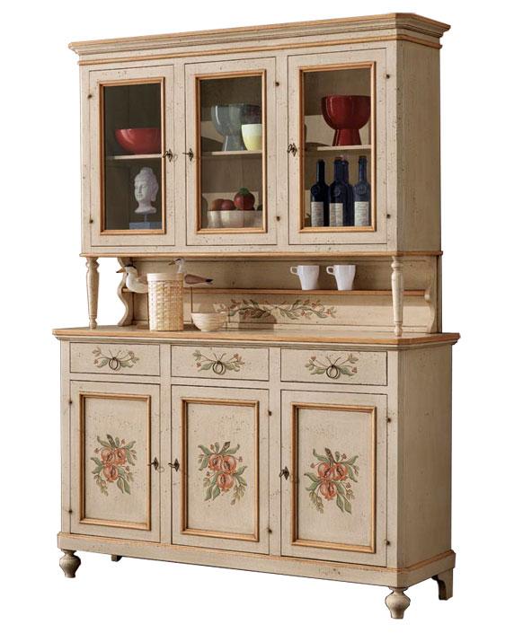 buffet vaisselier 3 portes lamaisonplus. Black Bedroom Furniture Sets. Home Design Ideas