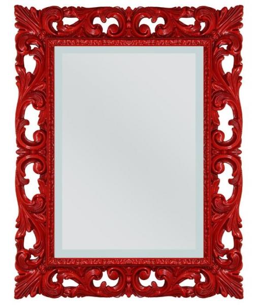 Miroir design rouge  réf. 6705-red