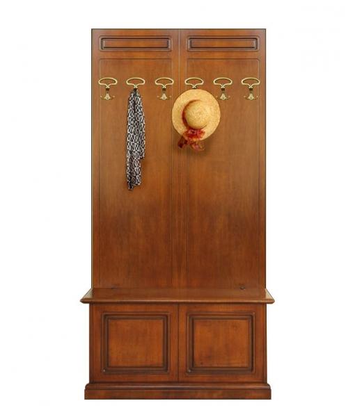vestiaire avec coffre de rangement en bois lamaisonplus. Black Bedroom Furniture Sets. Home Design Ideas