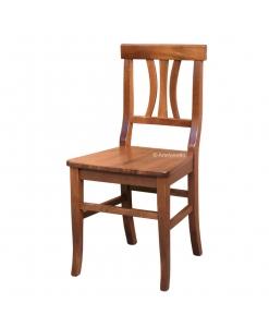 Chaise de cuisine en hêtre massif