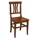 chaise de cuisine en bois massif, chaise classique, chaise de repas, chaise salle à manger