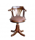 Fauteuil tournant, fauteuil de bureau confort, Arteferretto