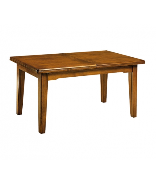 Table rallonge en bois massif lamaisonplus - Table bois massif rallonge ...