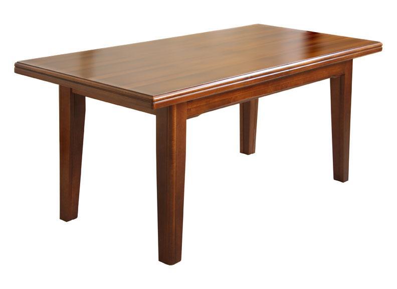 table rallonge en bois massif lamaisonplus. Black Bedroom Furniture Sets. Home Design Ideas