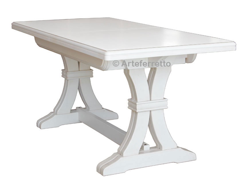Table extensible en bois massif 180 360 cm lamaisonplus for Table extensible bois massif