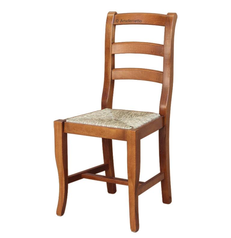 Chaise de cuisine assise en paille lamaisonplus - Assise de chaise en paille ...