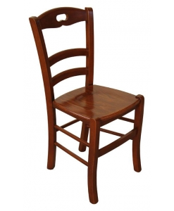 chaise classique de cuisine, chaise salle à manger, chaise robuste en massif