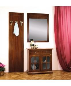 Ensemble de meubles d'entrée en bois Arteferretto