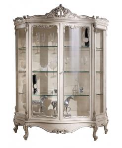 vitrine, vitrine de style, vitrine classique, ameublement de style pour le salon, ameublement de luxe