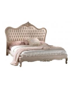Lit deux places, lit matrimonial, mobilier de luxe