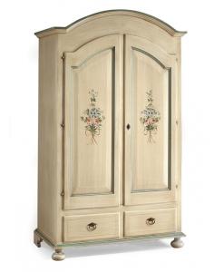 armadio laccato, armadio decorato