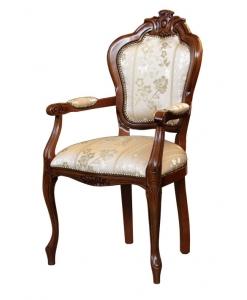 chaise bout de table, chaise avec accoudoirs