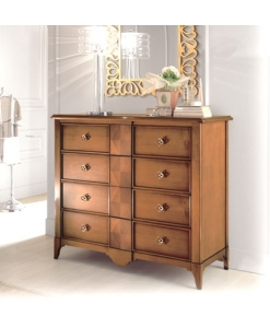 Commode, commode avec grands tiroirs, zone nuit
