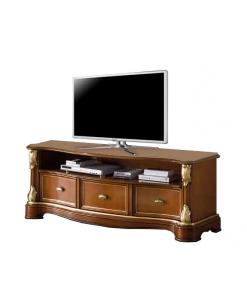 meuble tv, meuble tv en bois, ameublement classique, ameublement de style