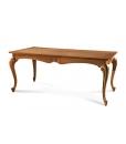 Table rectangulaire pieds modelés, table de salon, table salle à manger