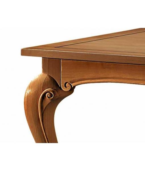 Table rectangulaire, table salle à manger en bois