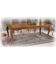 Table rectangulaire, table modelée, table de salon grande