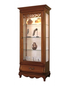 vitrine Arteferretto, vitrine 1 porte, vitrine élégante