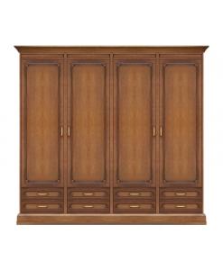 armoire de chambre modulaire, garde-robe, armoire penderie