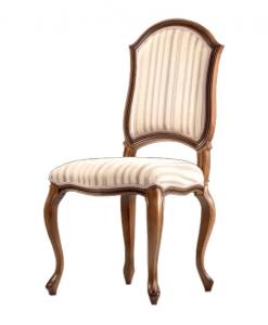 chaise en bois, chaise rembourré, siège de qualité