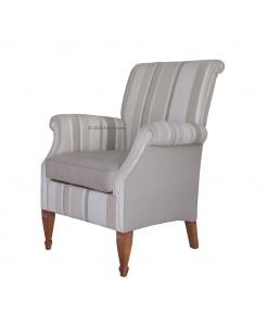 Fauteuil rembourré. fauteuil haut de gamme, fauteuil classique