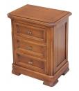 Table de nuit, chevet 3 tiroirs
