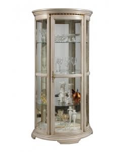 vitrine, vitrine en bois, vitrine classique, vitrine pour le salon, ameublement de style