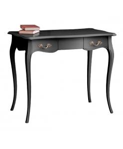 bureau stylisé noir, mobilier bureau