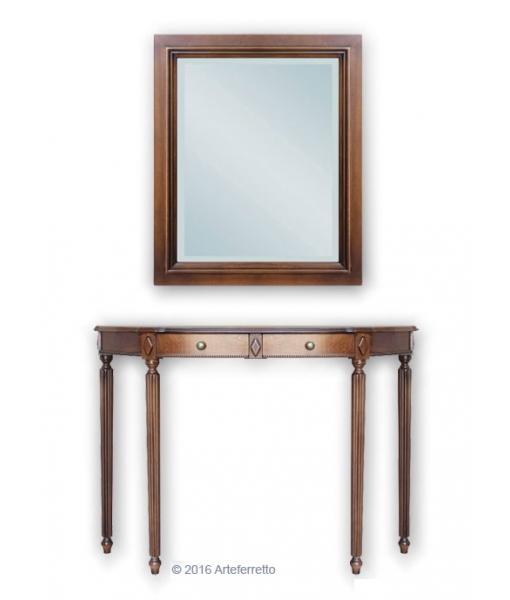 Composition console et miroir réf. Comp-2047