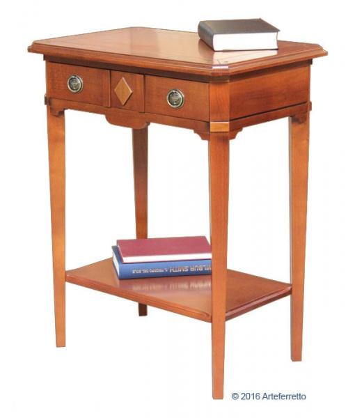 table console, table console en bois, table console pour l'entrée, console, petite console, Réf. D-909