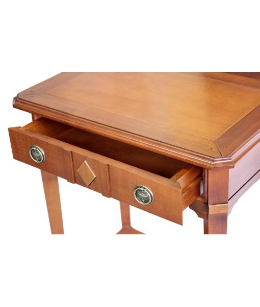 Table console en bois massif lamaisonplus - Table console en bois ...