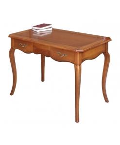 bureau merisier, bureau, bureau en bois massif, bureau classique, bureau de style, ameublement de style classique, ameublement pour le bureau