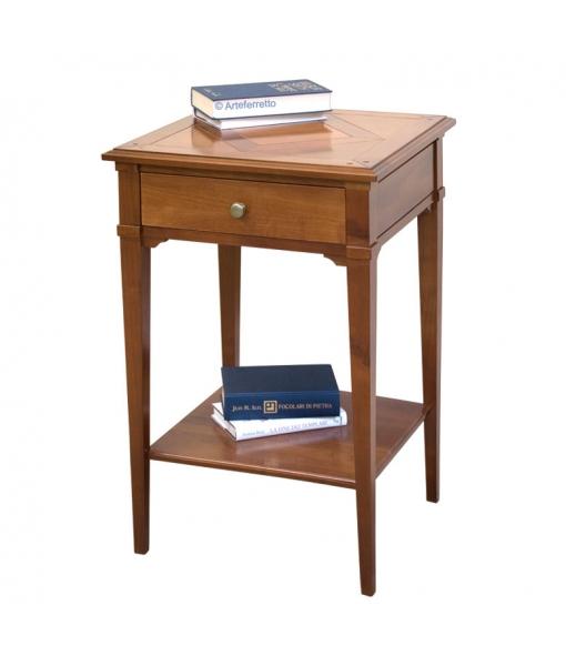 petite table en bois, petite table de salon, Art. D904